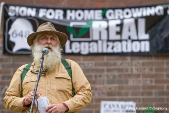 """""""Small farmers are a vast and diverse group. Patients have to be growers and farmers. It's a symbiotic relationship and a healing lifestyle,"""" Farmer Tom said in 2014 (Image: CHS)"""
