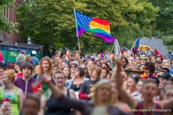 2014's Dyke March (Image: CHS)