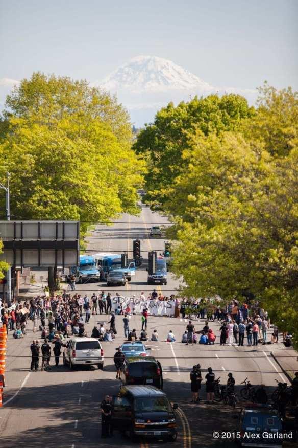 UPDATE: Saturday's Black Lives Matter march blocking Rainier and MLK Way