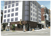 The developers included this rendering of what the project *could* look like if they preserved the building