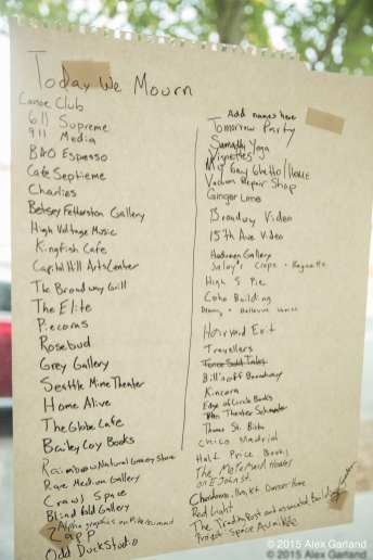 "Sawant had this list from a summer art event of ""iconic"" closed businesses in hand while pitching a commercial rent control."