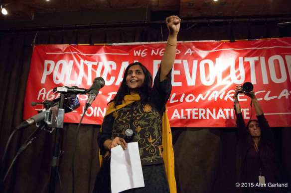 Sawant on Election Night (Image: CHS)