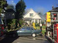 A 16th Ave E house fire