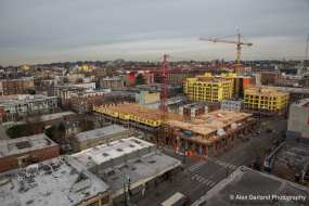 A view from a Pike/Pine crane