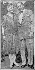 Mabel Seaborg and Samuel Jordan circa 1928.  Image: Seattle Times.