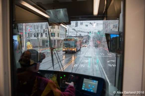 The First Hill Streetcar vs. The 60 (Image: CHS)