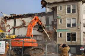 A former resident captures the destruction of his home.