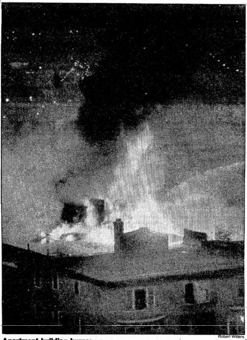 Pickwick Hotel fire, 1984