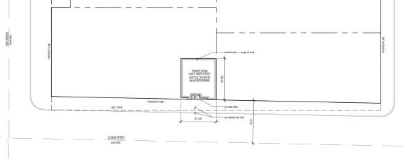 The tiny space at 1020 E Union -- and new shared restrooms -- will be designed by Atelier Drome