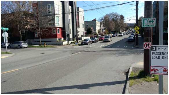 10th and John as it appears today (Image: Central Area Greenways)