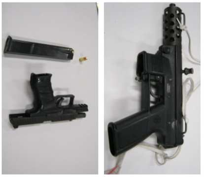 Weapons SPD says it recovered from a suspected Pike/Pine drug dealer early Saturday (Image: SPD)