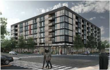 A Lake Union Project slated to replace the gas station on the northwest corner of 23rd and Union