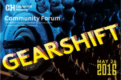 There is no Capitol Hill Community Council this month but please consider attending Thursday night's Capitol Hill Housing community forum -- Gearshift