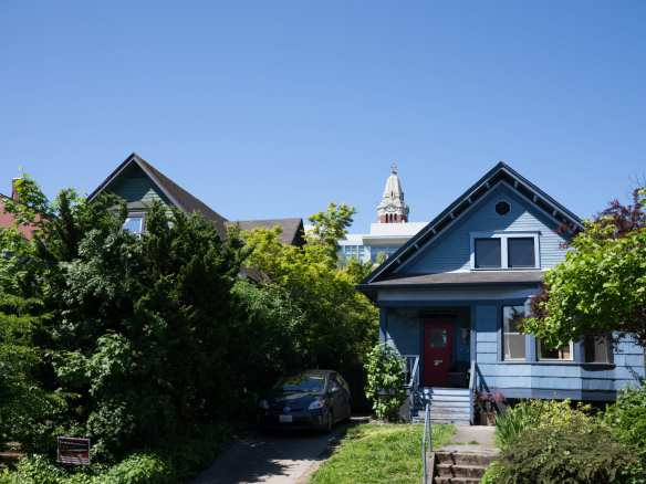 Displaced by the Ward House in 1986, moved to 533 and 537 19th by Earth Works and sold to low income families.