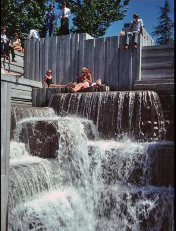 Sunnier days in the '70s in Freeway Park (Image: City of Seattle)