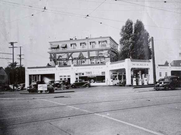McKale's, Broadway and Roy, 1937