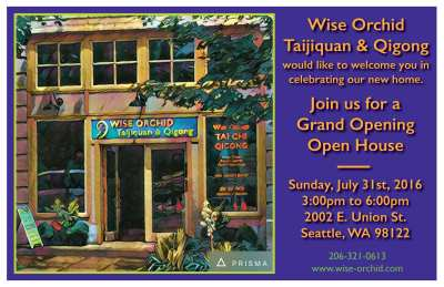 Wise Orchid Tai Chi Qigong Grand Opening