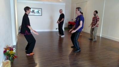 Brumbaugh teaches a class (Image: CHS)