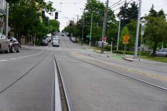 13th and Yesler from the street. (Image: CHS)