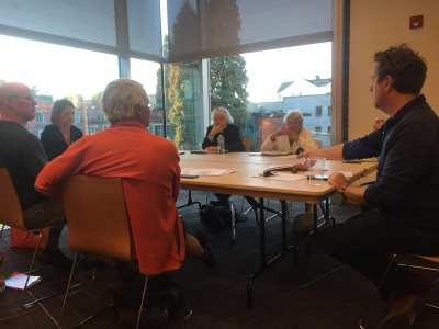The East District Council met Monday to discuss its fate. (Image: CHS)