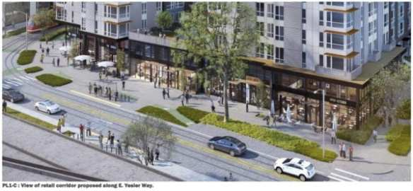 Vulcan's Block 3 plan for Broadway at Yesler might finally justify the First Hill Streetcar