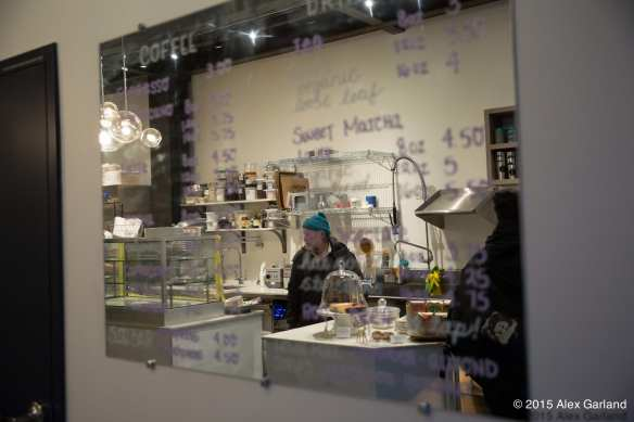 Bruce Naftaly inside Amandine Bakeshop (Images: CHS)