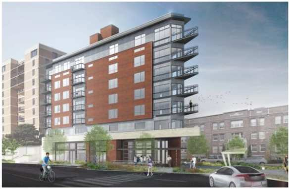 The First Hill Apartments project set to rise above Union