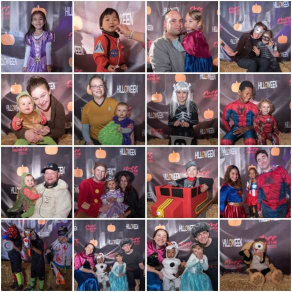 The Hilloween photo booth captured these little goblins (Image: CHCC)