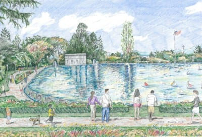 The Volunteer Park Trust's vision for a possible future for the reservoir
