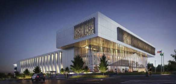 The proposed North Precinct. Nice. But you wouldn't want to live there.