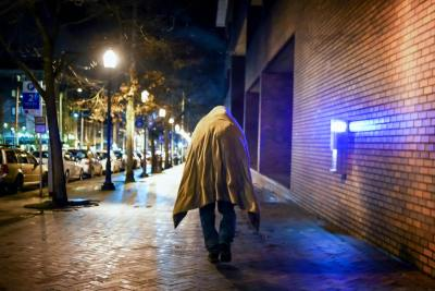 Photographer Tim Durkan's works including many images of homeless people living on Capitol Hill were the subject of a photo exhibition in August