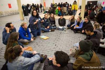 Groups began organizing at a November event at Capitol Hill's V2 (Image: CHS)