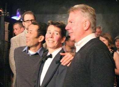 Kuperman with then-State Senator Ed Murray and his husband Michael Shiosaki (Image: Century Ballroom)
