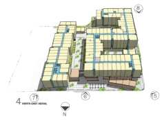 Vulcan's development slated to rise where the Red Apple stands today