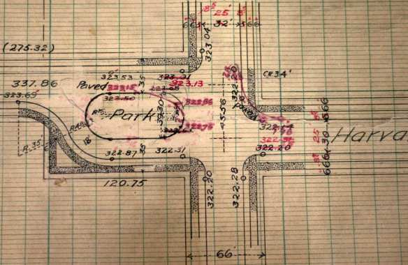 Engineering diagram of Harvard and Thomas
