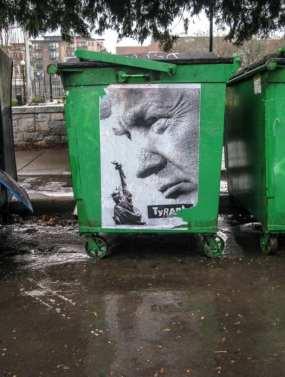Dumpster Tyrant (Image: primaseadiva via Flickr)
