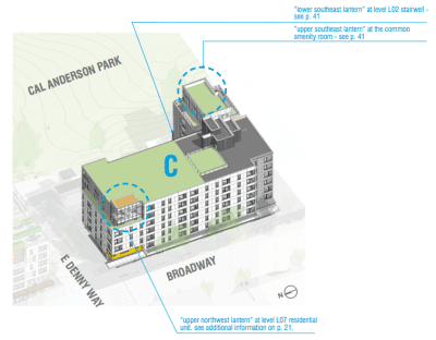 Design Review: Capitol Hill Station projects @ Seattle University 824 12th Ave Admissions & Alumni Comm Bldg- Stuart T Rolfe Room