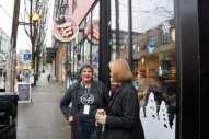 Mayor Durkan with Jody Hall