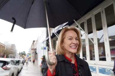 Mayor Durkan on 10th Ave