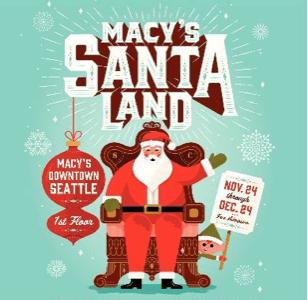 Macy's Santaland @ Macy's First Floor