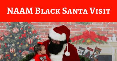 NAAM Black Santa Visit @ Northwest African American Museum