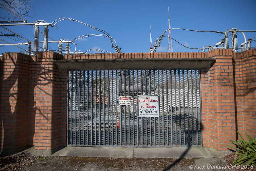 A 'Brutal' landmark? East Pine Substation the Central