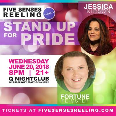 Stand Up for Pride with Fortune Feimster & Jessica Kirson @ Q Nightclub