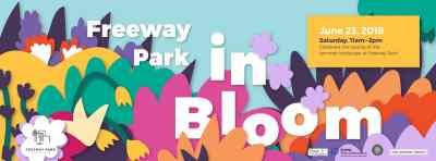 Freeway Park in Bloom @ Seneca Plaza at Freeway Park