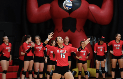 wholesale dealer dc765 a9059 Seattle U Volleyball vs. Montana State | CHS Capitol Hill ...