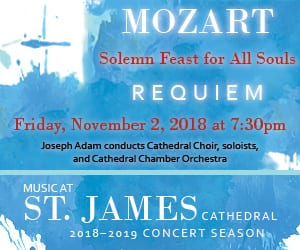 Solemn Mass for the Feast of All Souls • Requiem by Mozart @ St. James Cathedral