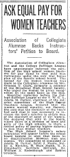 1918-05-27 Seattle Times - Ask Equal Pay For Women Teachers