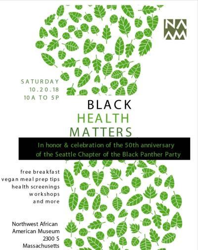 Black Health Matters @ Northwest African American Museum