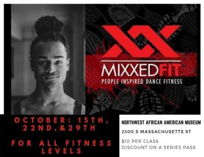 MixxedFitt w/Randy Ford @ Northwest African American Museum