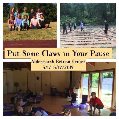 Put Some Claws in Your Pause: A Yoga & Writing Retreat celebrating Menopause @ Aldermarsh Retreat Center